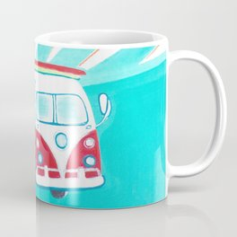Surfer Sunrise Coffee Mug