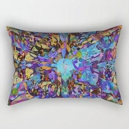 Purple Insanity Rectangular Pillow