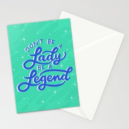 Be a Legend Stationery Cards