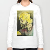 zombies Long Sleeve T-shirts featuring zombies by Marcelo O. Maffei