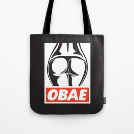 OBAE the booty. Tote Bag