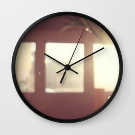 view from my window . ii Wall Clock