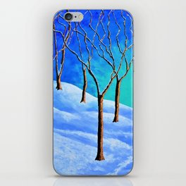 Winter Woods iPhone Skin