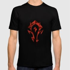 for the horde LARGE Black Mens Fitted Tee