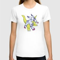 digimon T-shirts featuring Gabumon by Jelecy