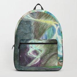 Cosmic Tea Woman Backpack