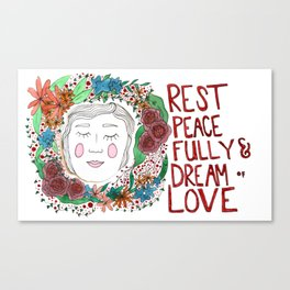 Rest Peacefully Canvas Print