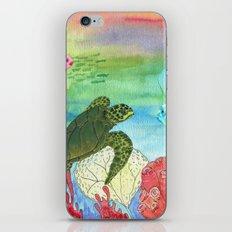 Sea Turtle Shores iPhone Skin