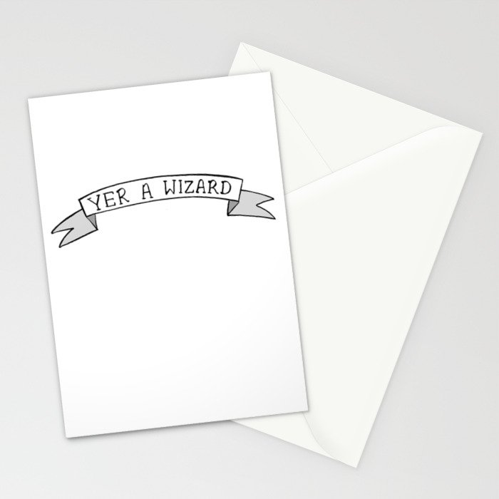 Yer A Wizard Stationery Cards