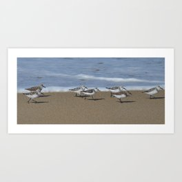 wave runners Art Print