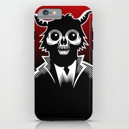Monkey Demon iPhone Case