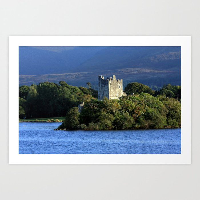 Ross Castle, Killarney, Ireland Art Print by aidanmoran
