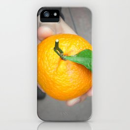 california orange iPhone Case