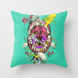 PSYCH MYSTERY Throw Pillow