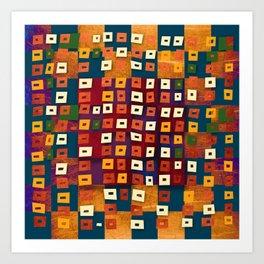 Nazcapop 18 Art Print
