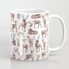 Christmas Reindeer.  Coffee Mug