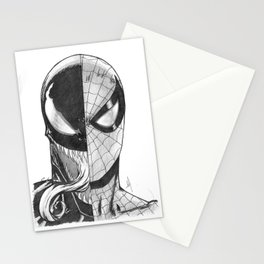 Spidey / Venom Portrait Stationery Cards