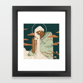 Mother Earth Goddess | Alex Gold Studios Framed Art Print