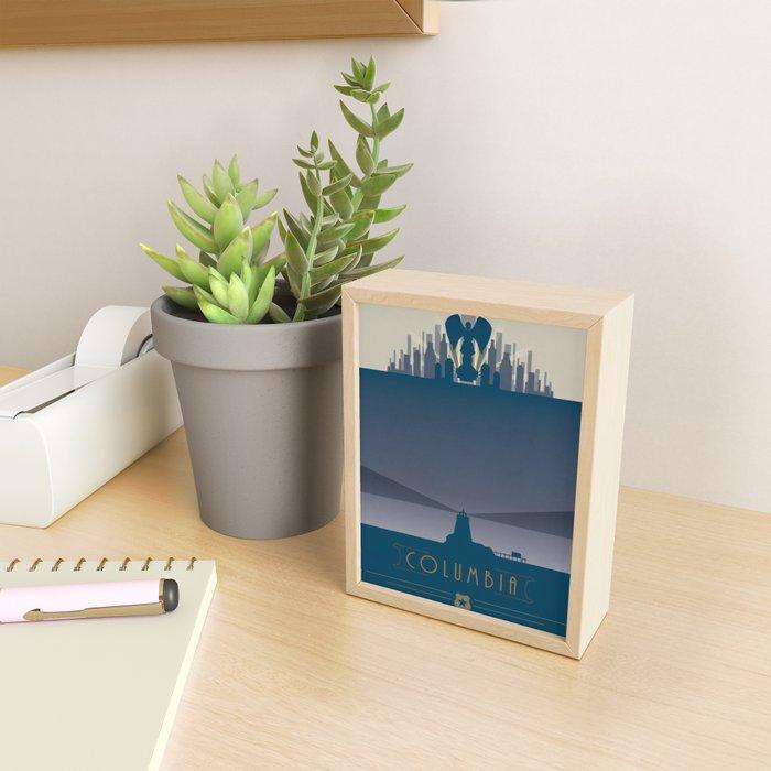 Bioshock Poster - Welcome to Columbia Framed Mini Art Print