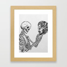 """""""Not to be"""" by Mauri Framed Art Print"""