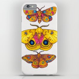 Multiple Moths iPhone Case