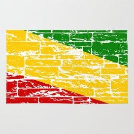 Rastafari Flag Rug