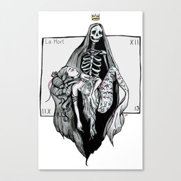 La Mort xiii Canvas Print