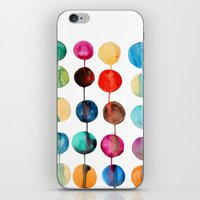 planets iPhone & iPod Skins featuring Planets by Mille Dørge