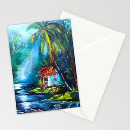 In the Palm Trees Stationery Cards