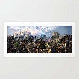 ACS-X23-Mix5Cropped Art Print