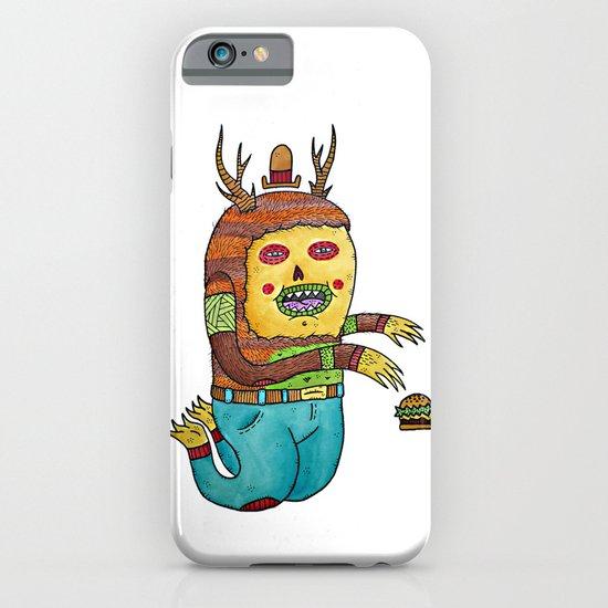Burger time. iPhone & iPod Case