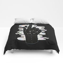 Libra - Zodiac Illustration Comforters