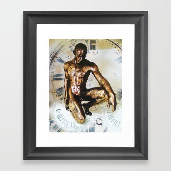 Master Of  Time Framed Art Print