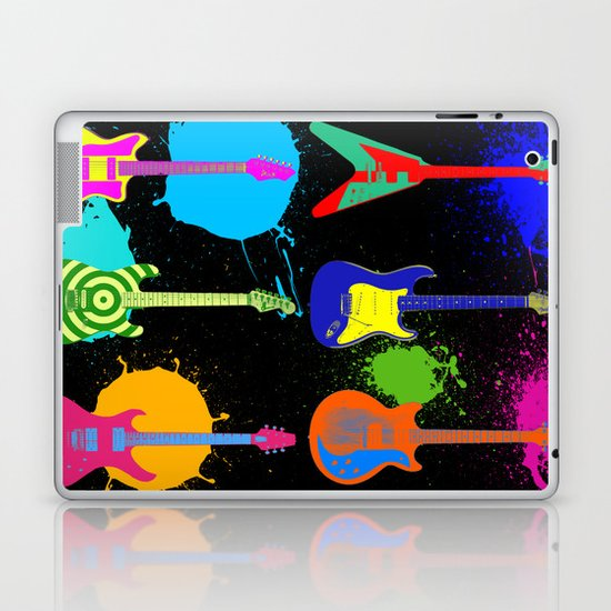 Retro Rock Laptop & iPad Skin