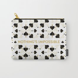 Nothing's Impossible Carry-All Pouch