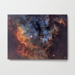 The Devil Nebula Metal Print