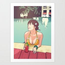 Resort Art Print
