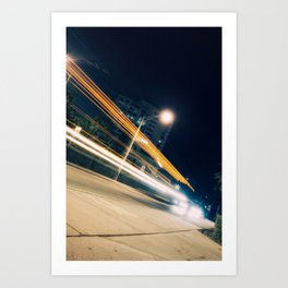 Here, there and everywhere Art Print