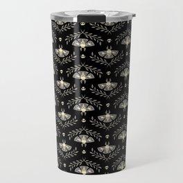 Spooky Moths Travel Mug