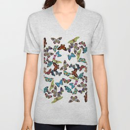 Butterfly Invasion Unisex V-Neck