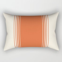 Marmalade & Crème Vertical Gradient Rectangular Pillow