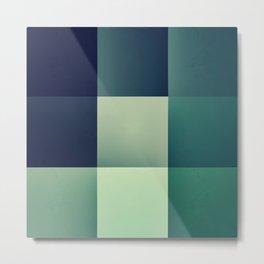 :: geometric maze XI :: Metal Print