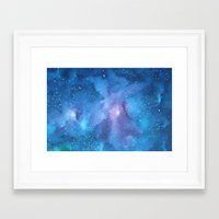 celestial Framed Art Prints featuring Celestial by Toni Yasger