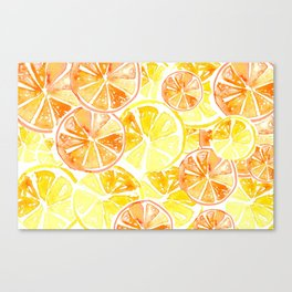 Citrus Celebration Canvas Print