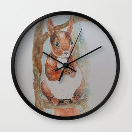 Squirrel Skipper Wall Clock