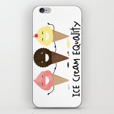 Ice cream Equality (reloaded) iPhone & iPod Skin