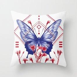 Evolution I Throw Pillow