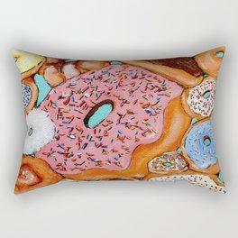 Donut Test Me Rectangular Pillow