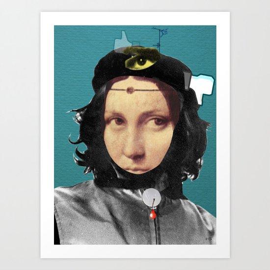 The Da VinChe Art Print
