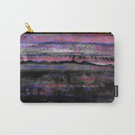 layers in purple Carry-All Pouch